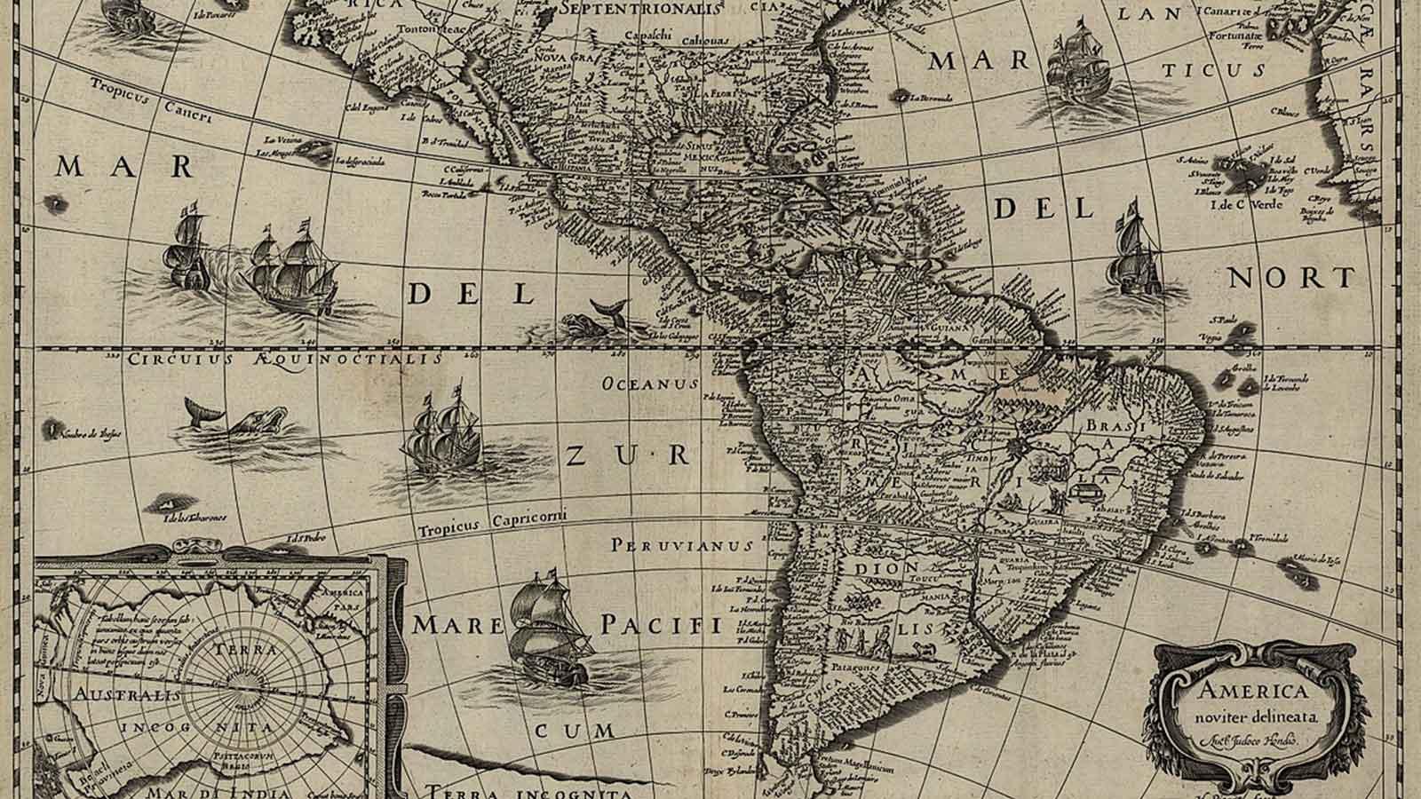 Mapa latinoamérica